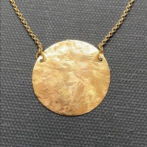 Marcia Moran coin necklace